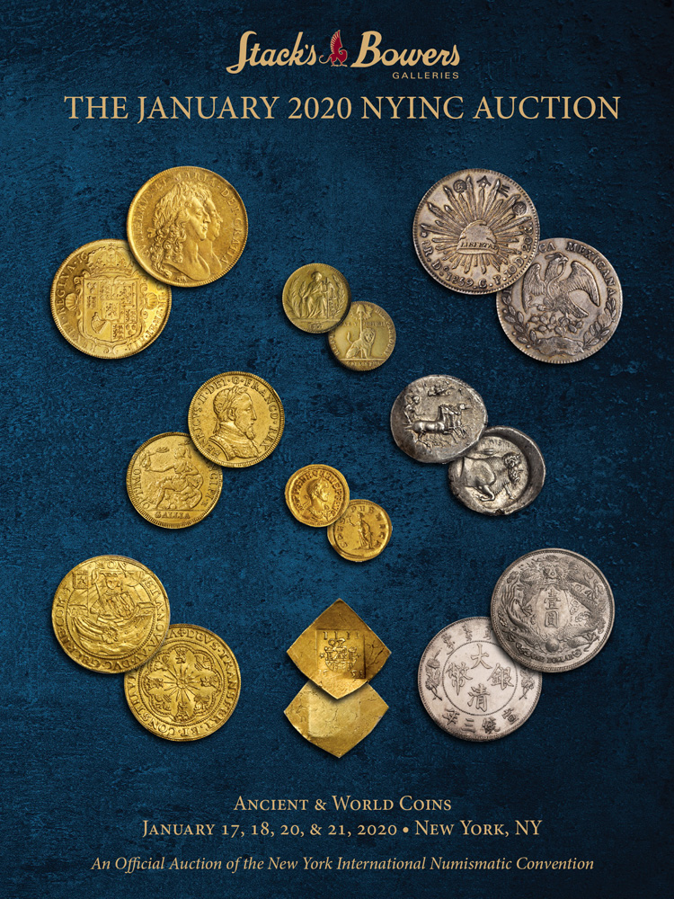 The January 2020 NYINC Auction - Ancient and World Coins