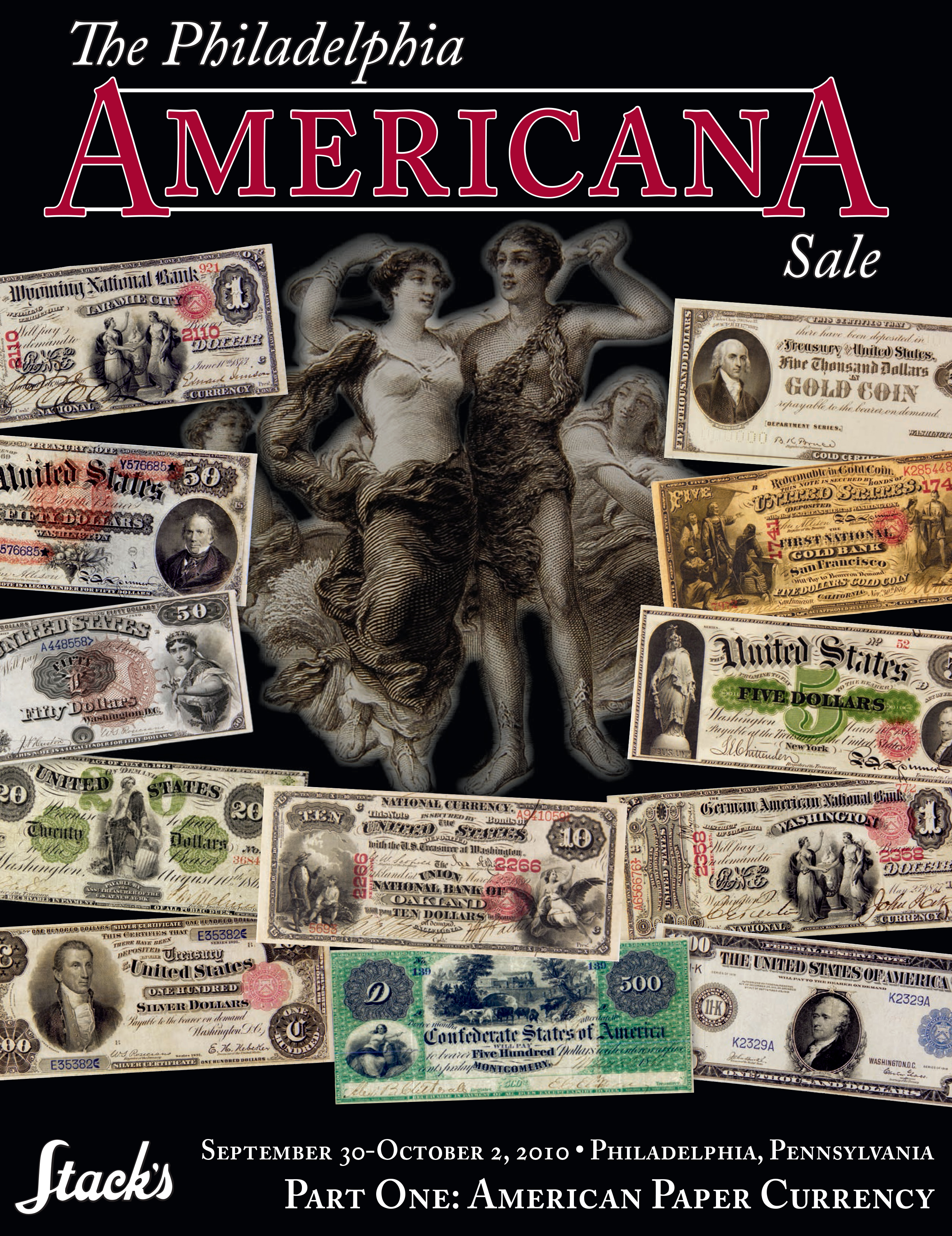 The Philadelphia Americana Sale Part One: American Paper Currency