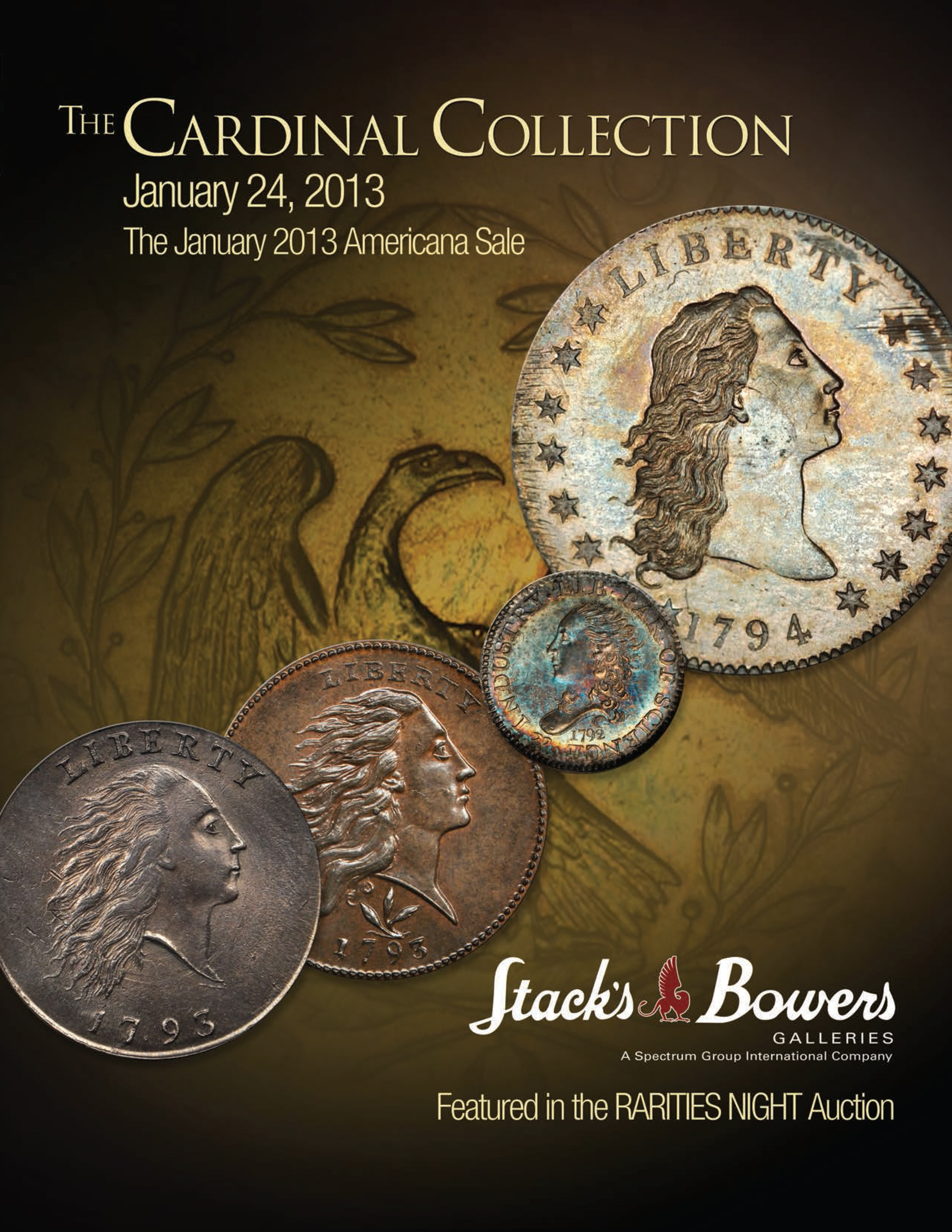 The Cardinal Collection, The January 2013 Americana Sale