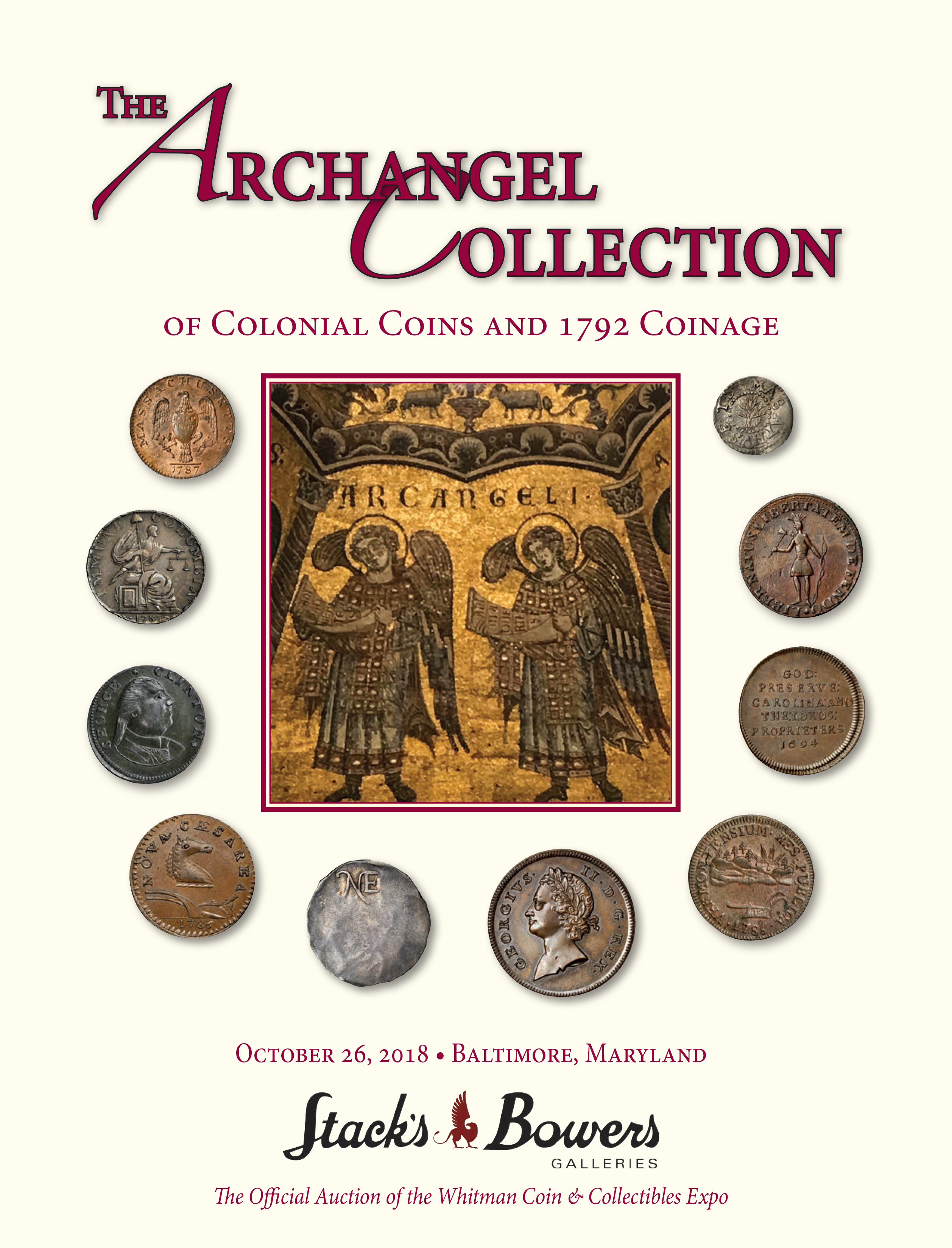 The Archangel Collection of Colonial Coins and 1792 Coinage