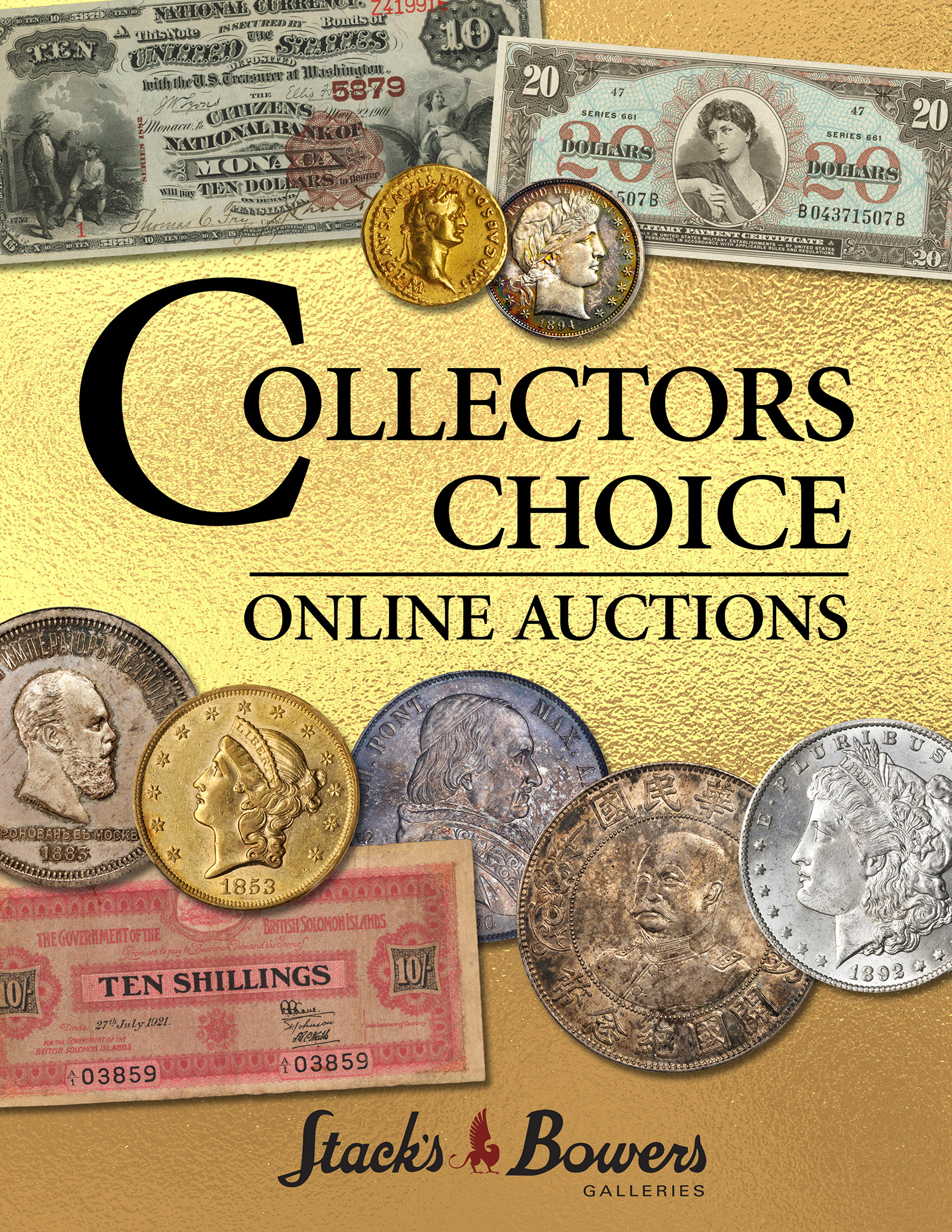 Stack's Bowers Galleries October 2019 Collector's Choice Online U.S. Sale