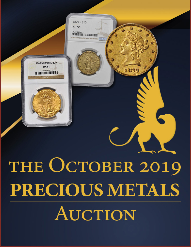 Stack's Bowers Galleries October 2019 Precious Metals Sale