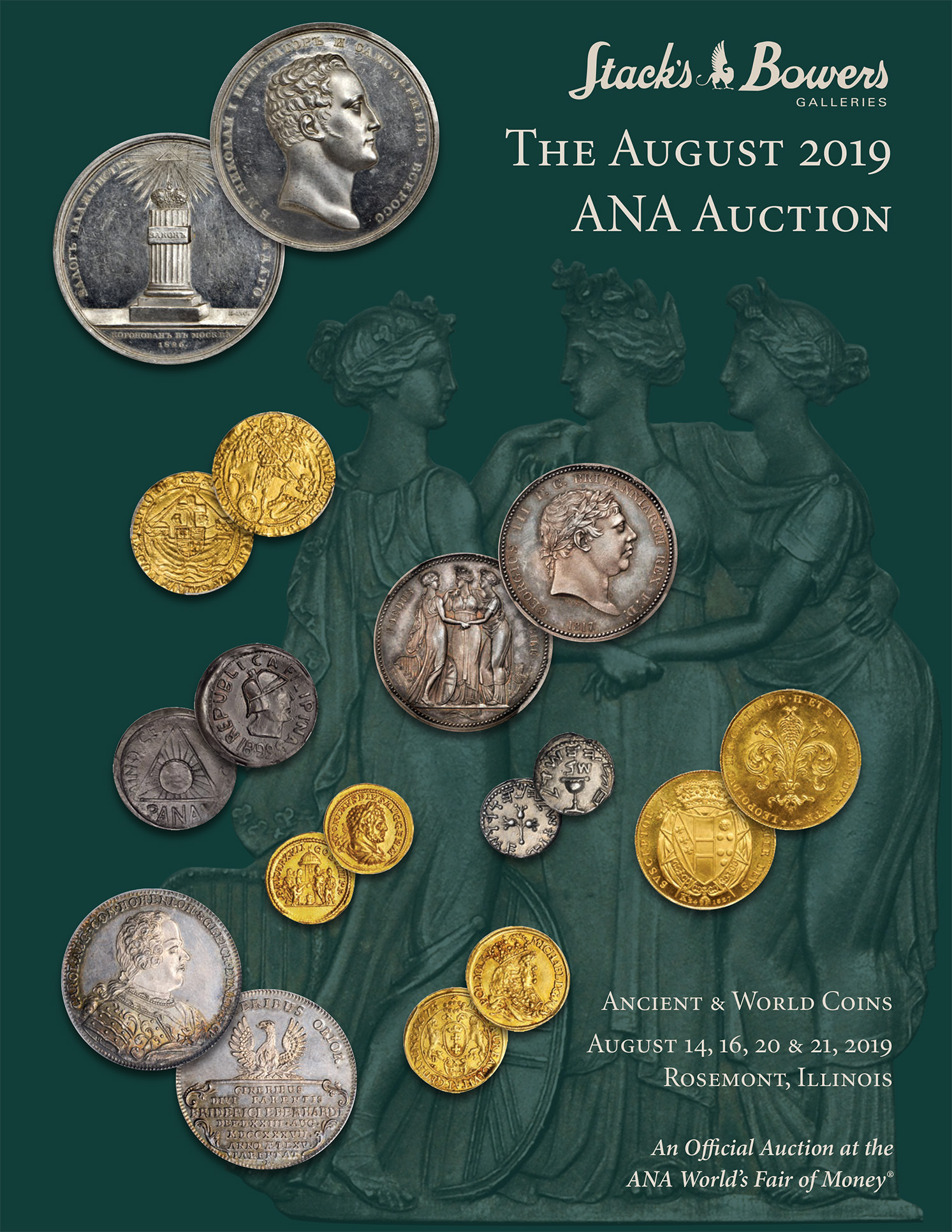 The August 2019 ANA Ancient & World Coins Auction