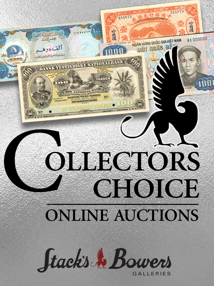 Stack's Bowers Galleries May 2021 Collector's Choice Online World Sale