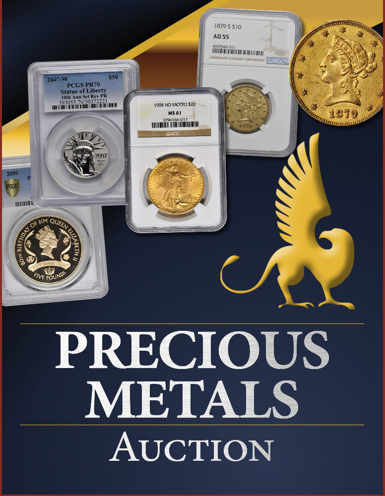 Stack's Bowers Galleries December 2020 Precious Metals Sale