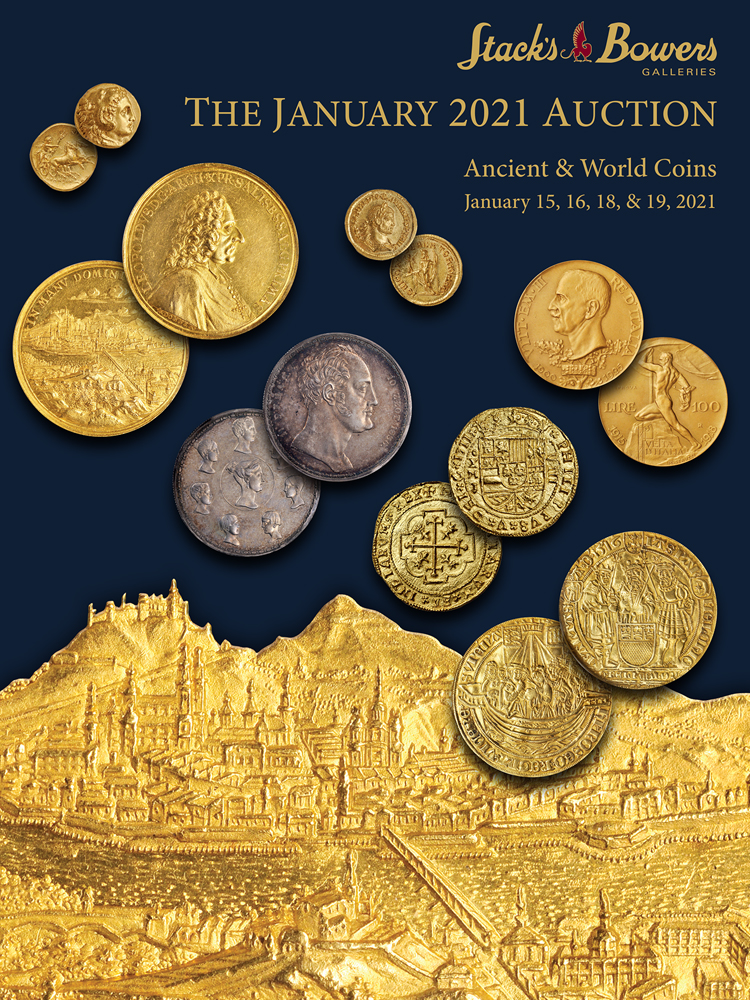 The January 2021 Ancient & World Coins Auction