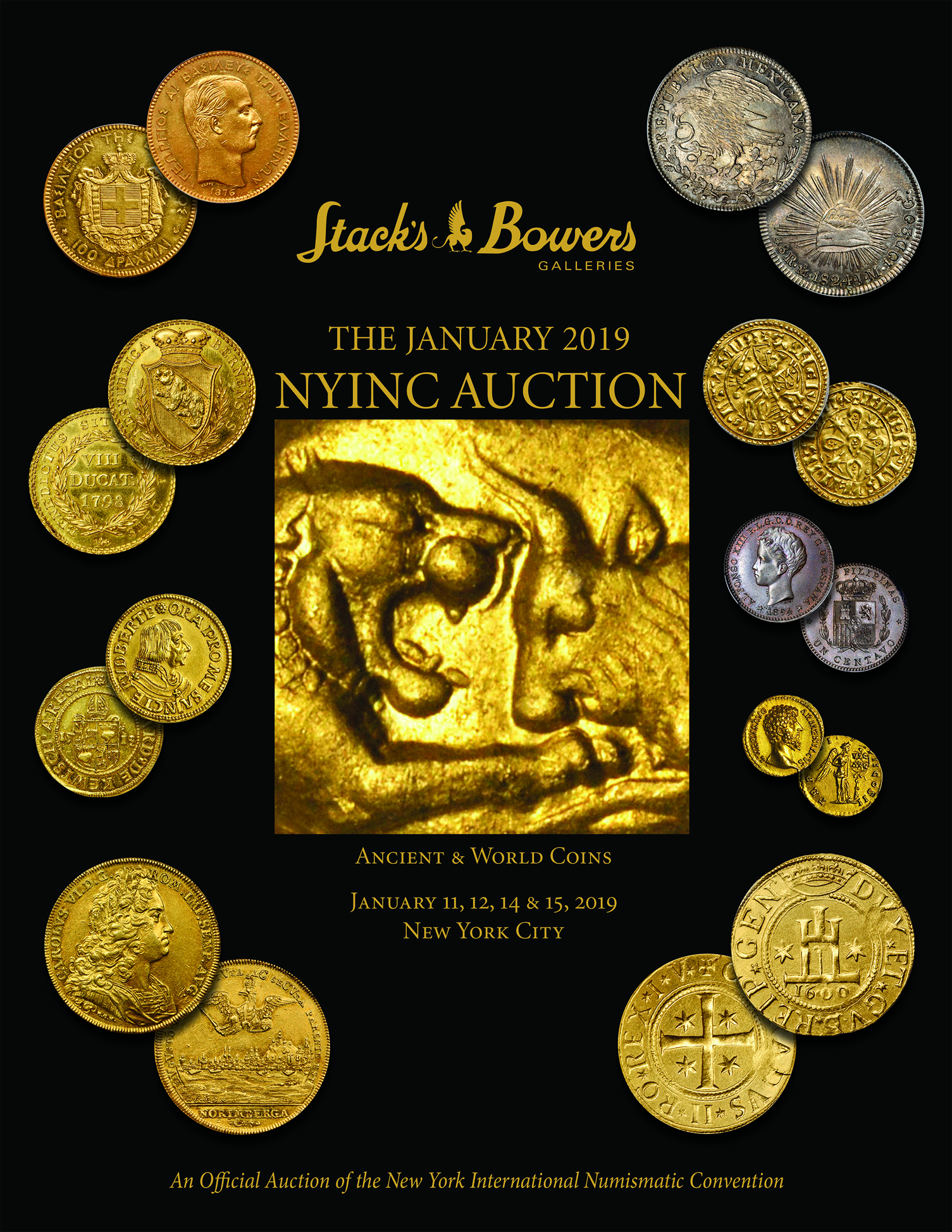 The January 2019 NYINC Auction - Ancient and World Coins