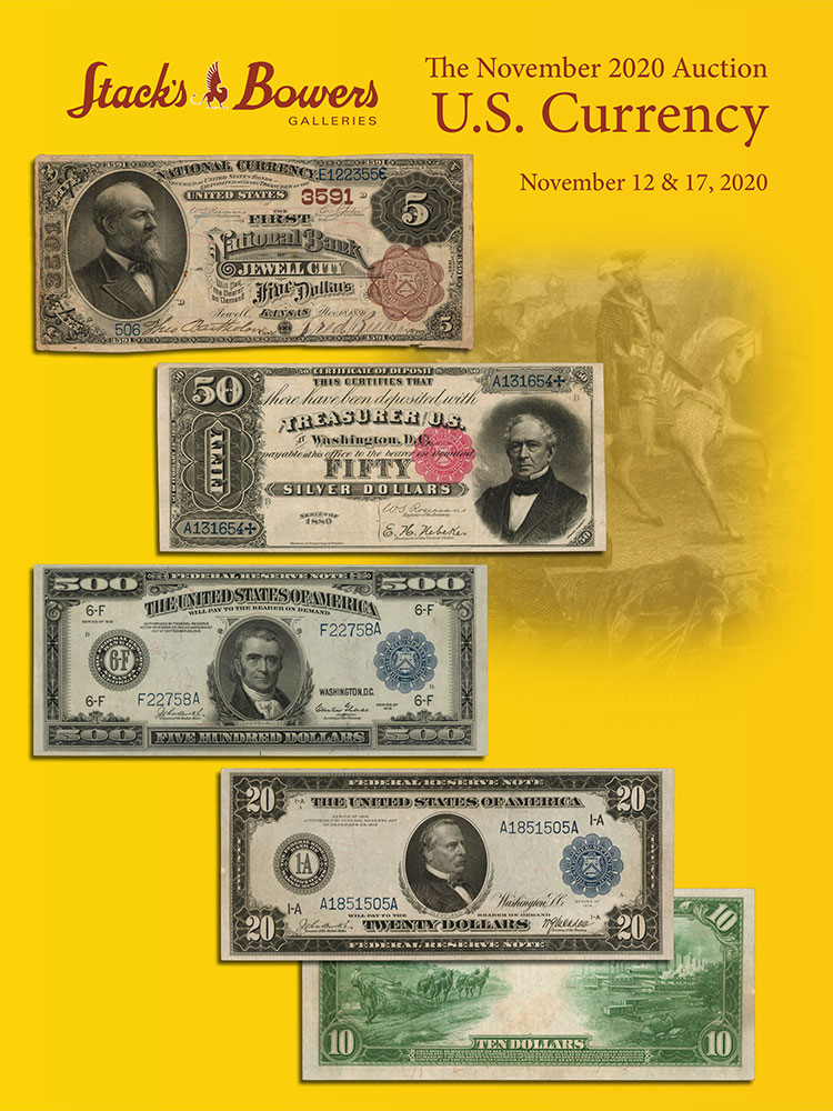 The November 2020 U.S. Currency Auction