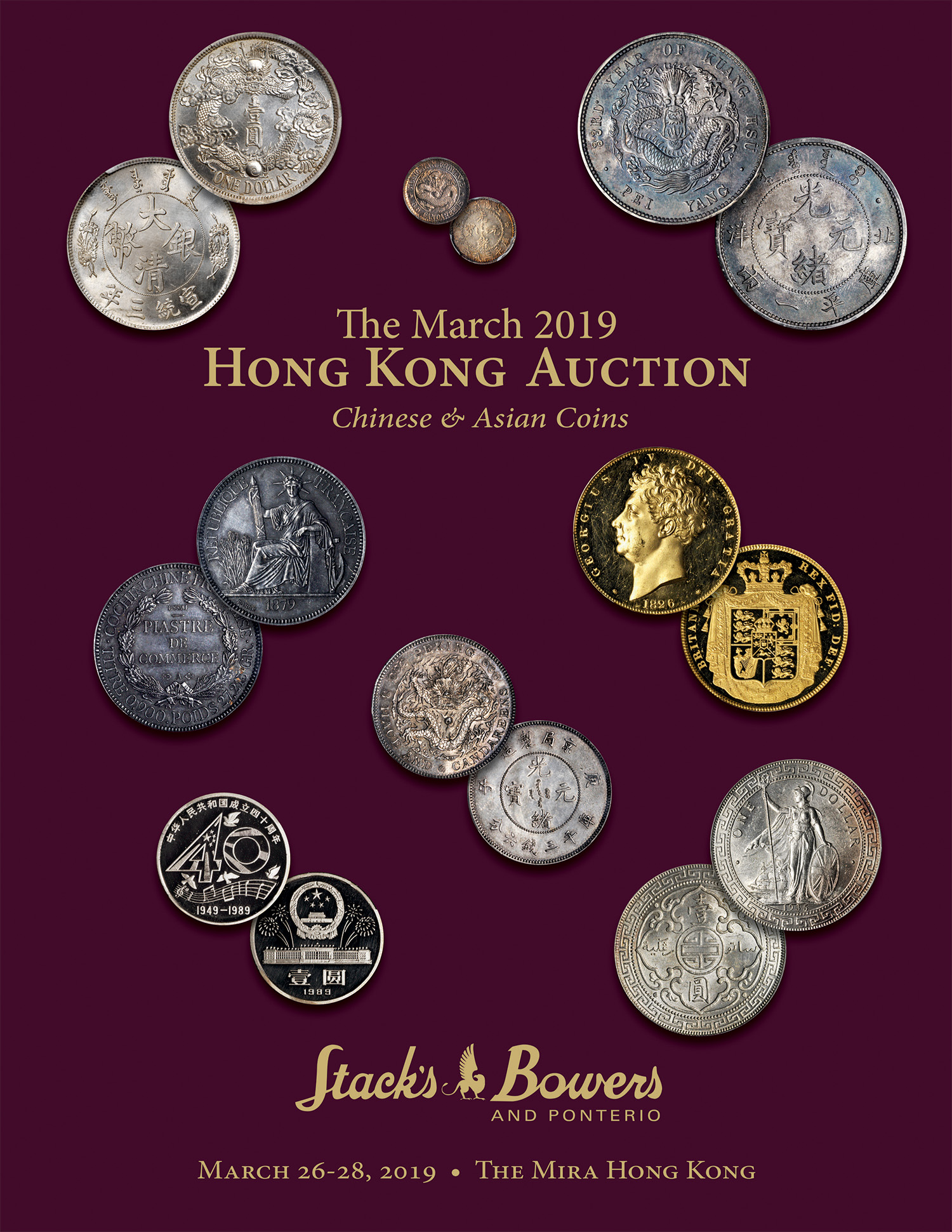 The March 2019 Hong Kong Auction, Chinese & Asian Coins