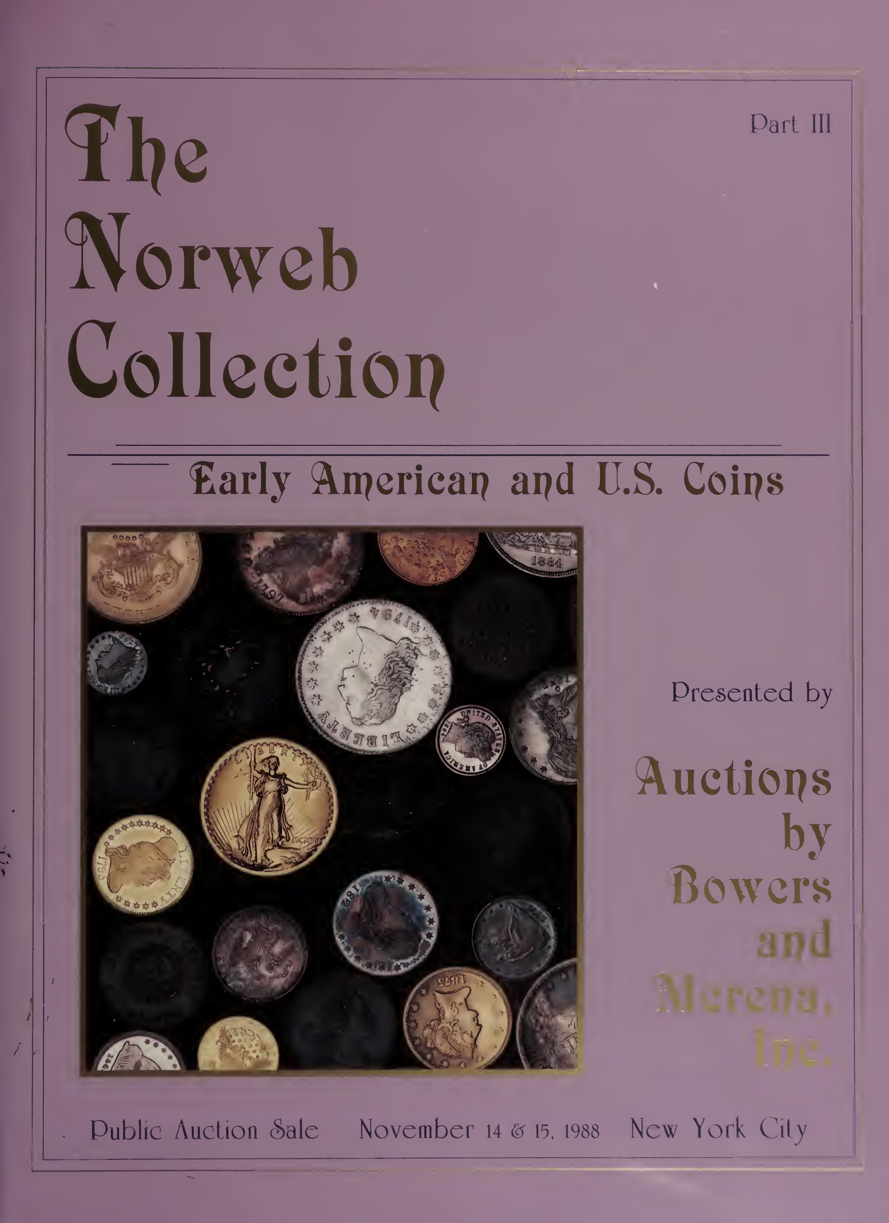 Rare Coins From The Norweb Collection